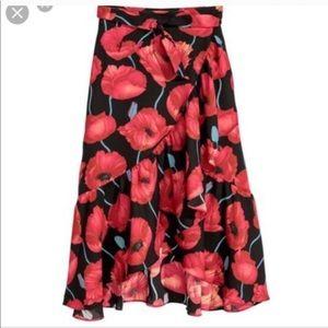 **** ISO **** H&M poppy skirt size 6/8